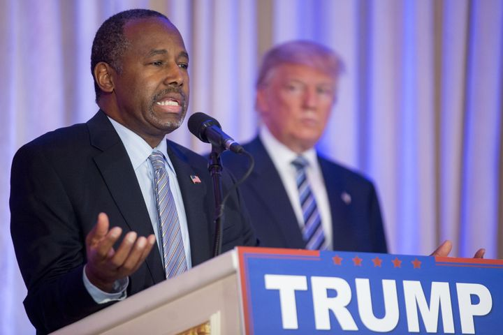 Ben Carson wants Donald Trump to win, really!
