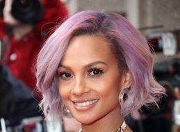 Alesha Dixon Debuts Lilac Hair At Britain's Got Talent Launch