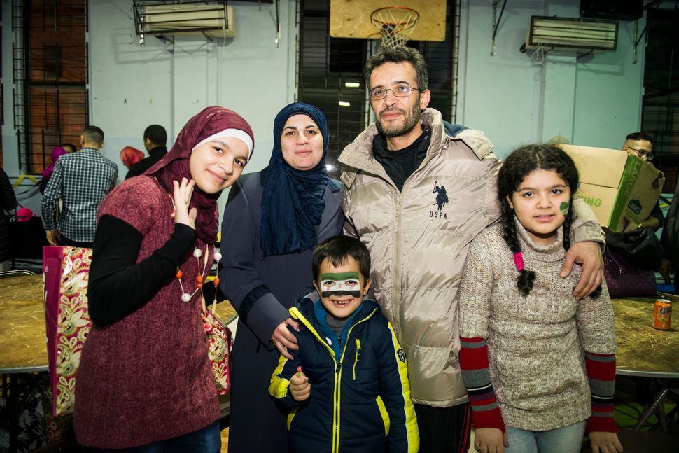 The Darbis -- Nabiha, Amira, Mohamed, Hajar and Shaker, going clockwise -- are among the almost 3,000 Syrian refugees who hav