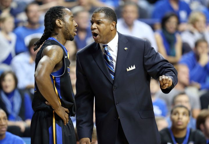 Now the head coach at Morehead State in Kentucky, Woods saysplayers and coaches still ask him about his shot in the 199