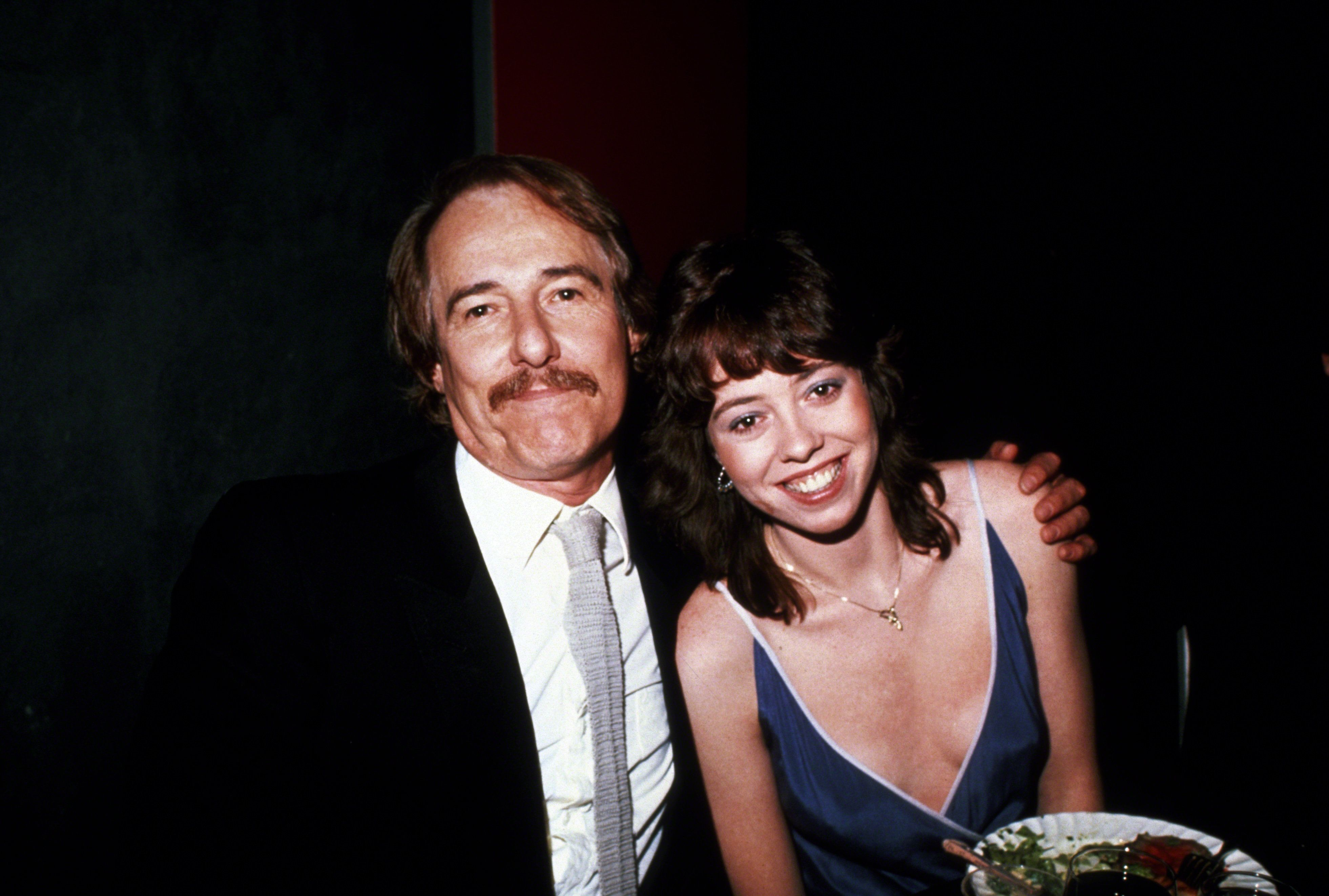 Mackenzie Phillips and father John Phillips circa 1981, a few years after Mackenzie says their sexual relationship began