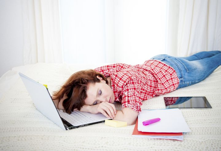 More than two-thirds of the high school students in the study reported sleeping seven hours or less a night.