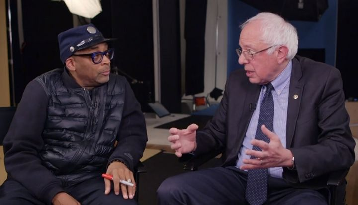 Spike Lee spoke withBernie Sanders for an interview published by The Hollywood Reporter.