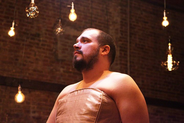 """Justin Sayre's new solo play, """"Love's Refrain,""""takes a turn for the poignant, romantic and deeply personal."""