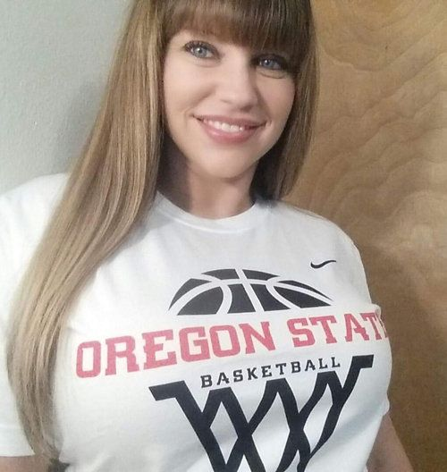 Tracy never thought she'd wear Oregon State University gear, not after she reported that OSU football players sexually assaul