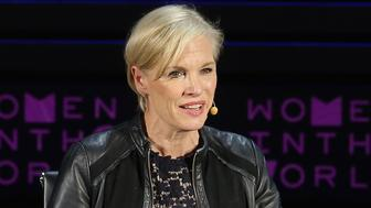 NEW YORK, NEW YORK - APRIL 07:  President of Planned Parenthood Federation of America and Planned Parenthood Action Fund Cecile Richards and Alicia Menendez speak onstage at Standing Her Ground during Tina Brown's 7th Annual Women In The World Summit at David H. Koch Theater at Lincoln Center on April 7, 2016 in New York City.  (Photo by Jemal Countess/Getty Images)
