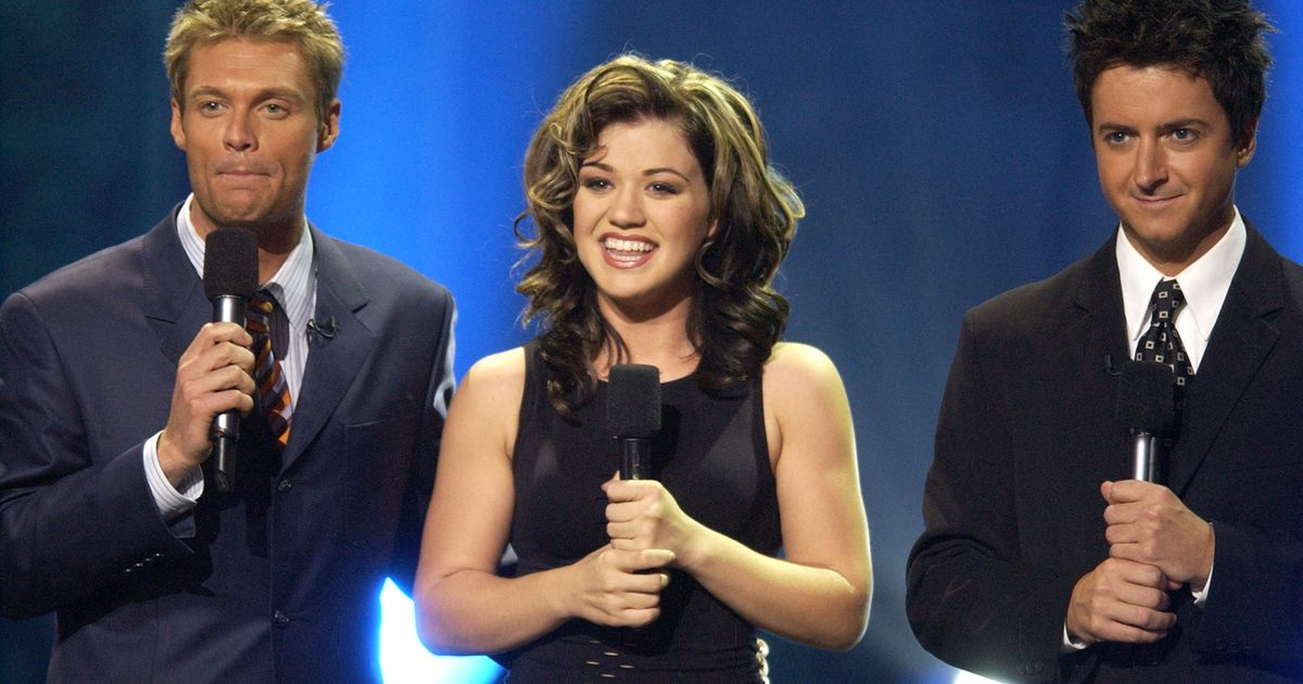 Brian Dunkleman Returns To The 'American Idol' Stage For The Series Finale