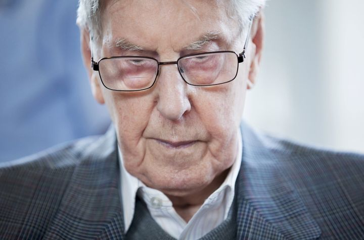 The trial of former Auschwitz guard Reinhold Hanning, pictured, has already started.