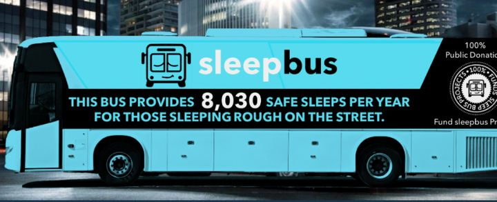 The Sleepbus will offer homeless individuals something that can be hard to come by on the streets: a good night's r