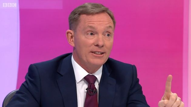 BBC Question Time Panellist Chris Bryant Slams Daily Mail And The SunFor EU