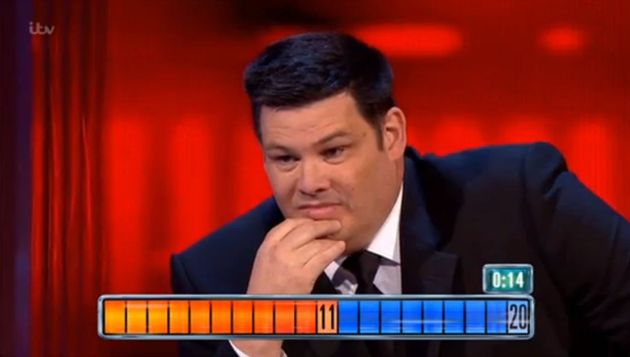 Chaser Mark 'The Beast' Labbett was answering the questions in the Final