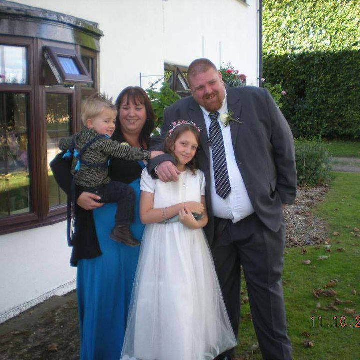 Gemma, Dave and their two children Katie and Dexter.