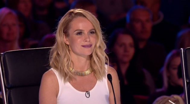 Amanda Holden is particularly impressed with Beau's