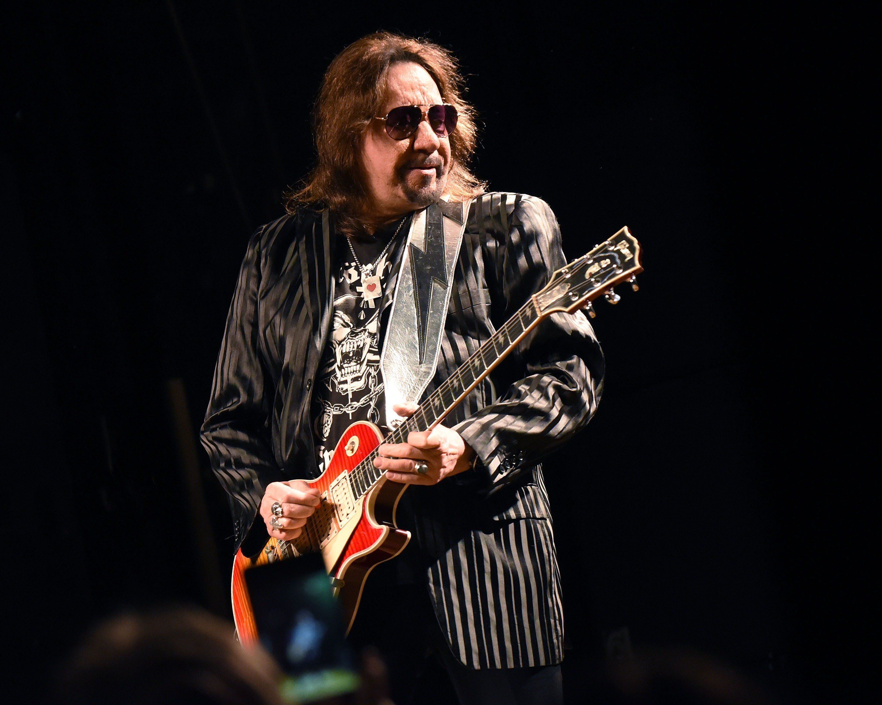 ATLANTA, GEORGIA - APRIL 05:  Ace Frehley performs at Variety Playhouse on April 5, 2016 in Atlanta, Georgia.  (Photo by Chris McKay/Getty Images)