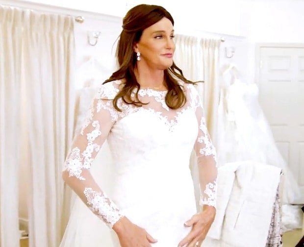 Caitlyn Jenner Sees Herself In A Wedding Dress For The First