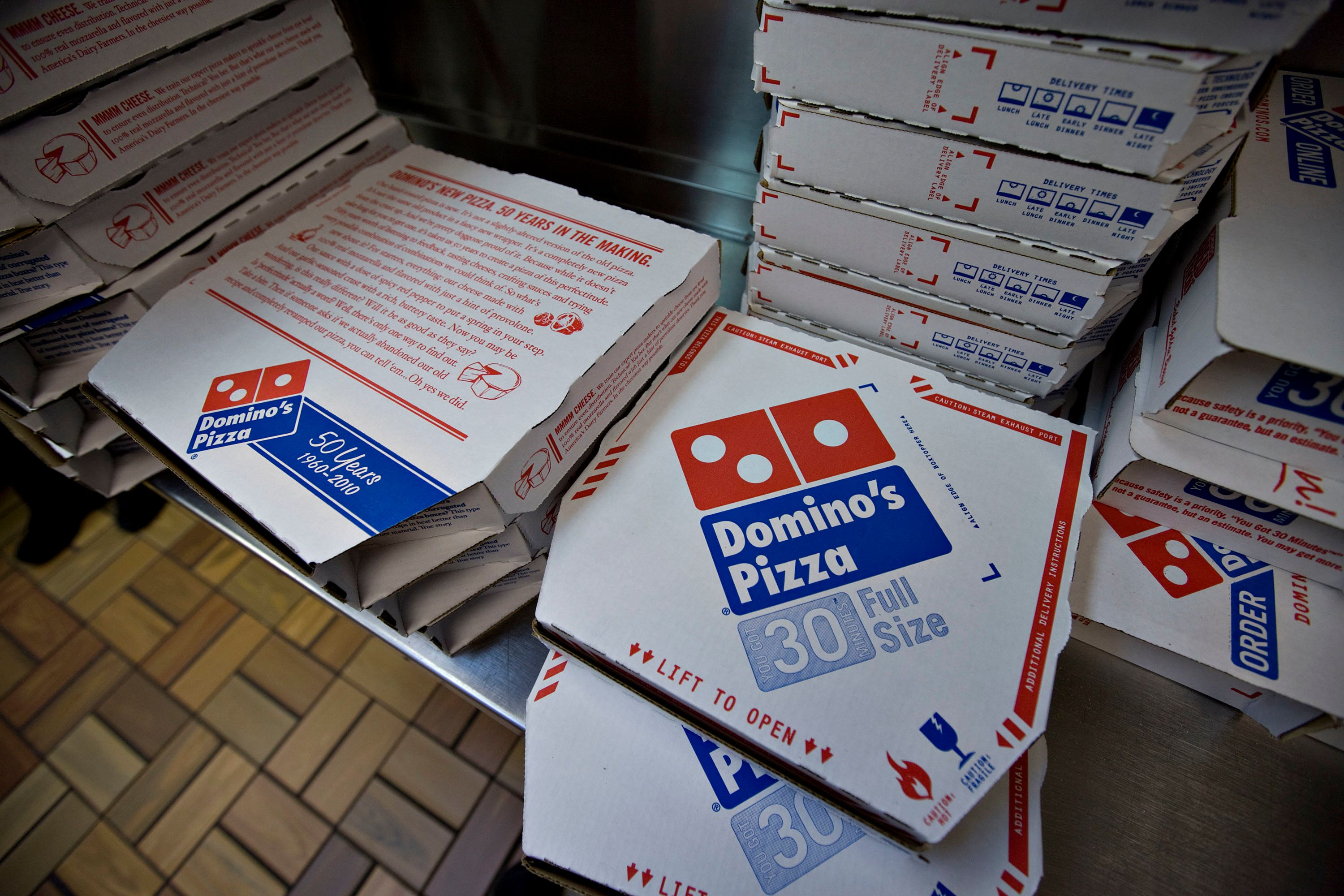 Domino's Worker Fired For Making Pun On Customer's