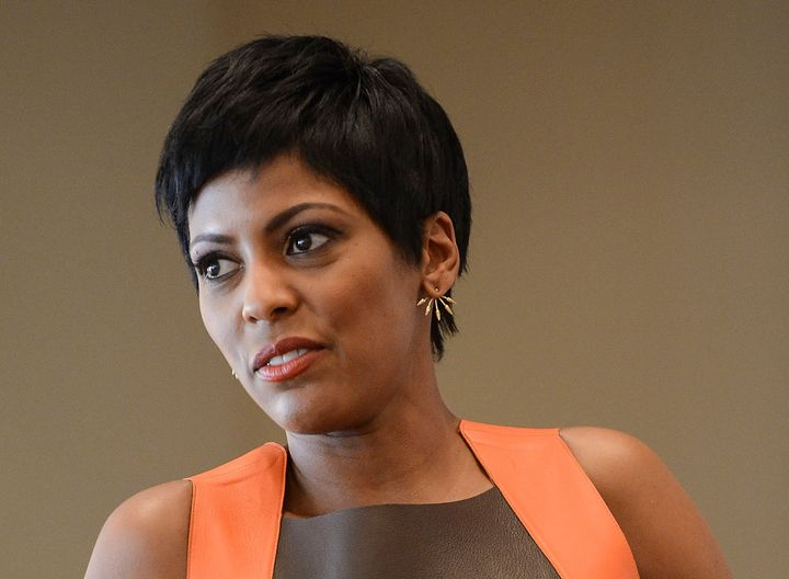 Tamron Hall said her sister's toxic relationship with an abusive partner may have led to her sister's death.