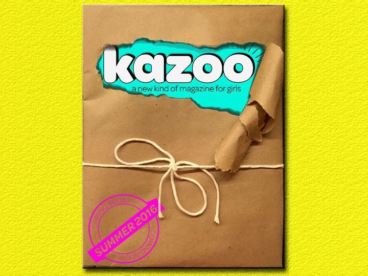 Kazoo is dedicated to empowering girls and smashing gender stereotypes.