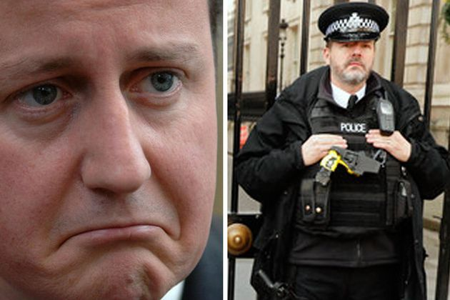 Downing Street Protest Attracts Attention Of Anarchist Group Class