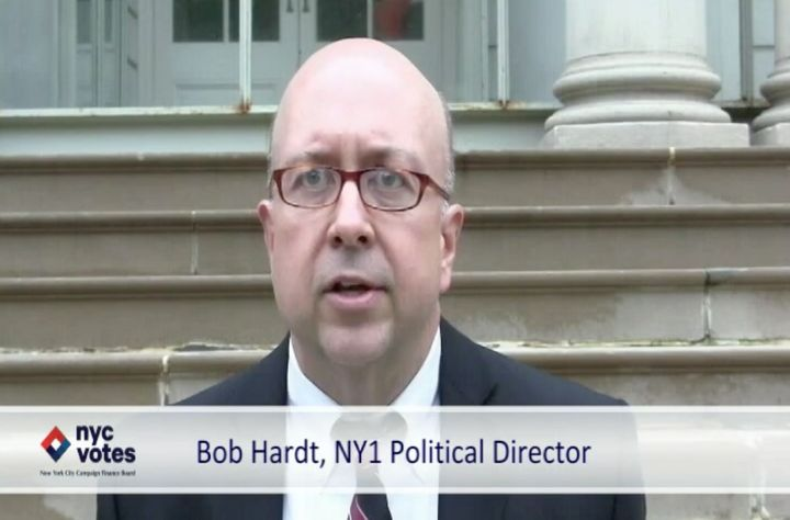 """New Yorkpolitics veteran Bob Hardt says presidential campaigning in the city is """"very, very rare."""""""