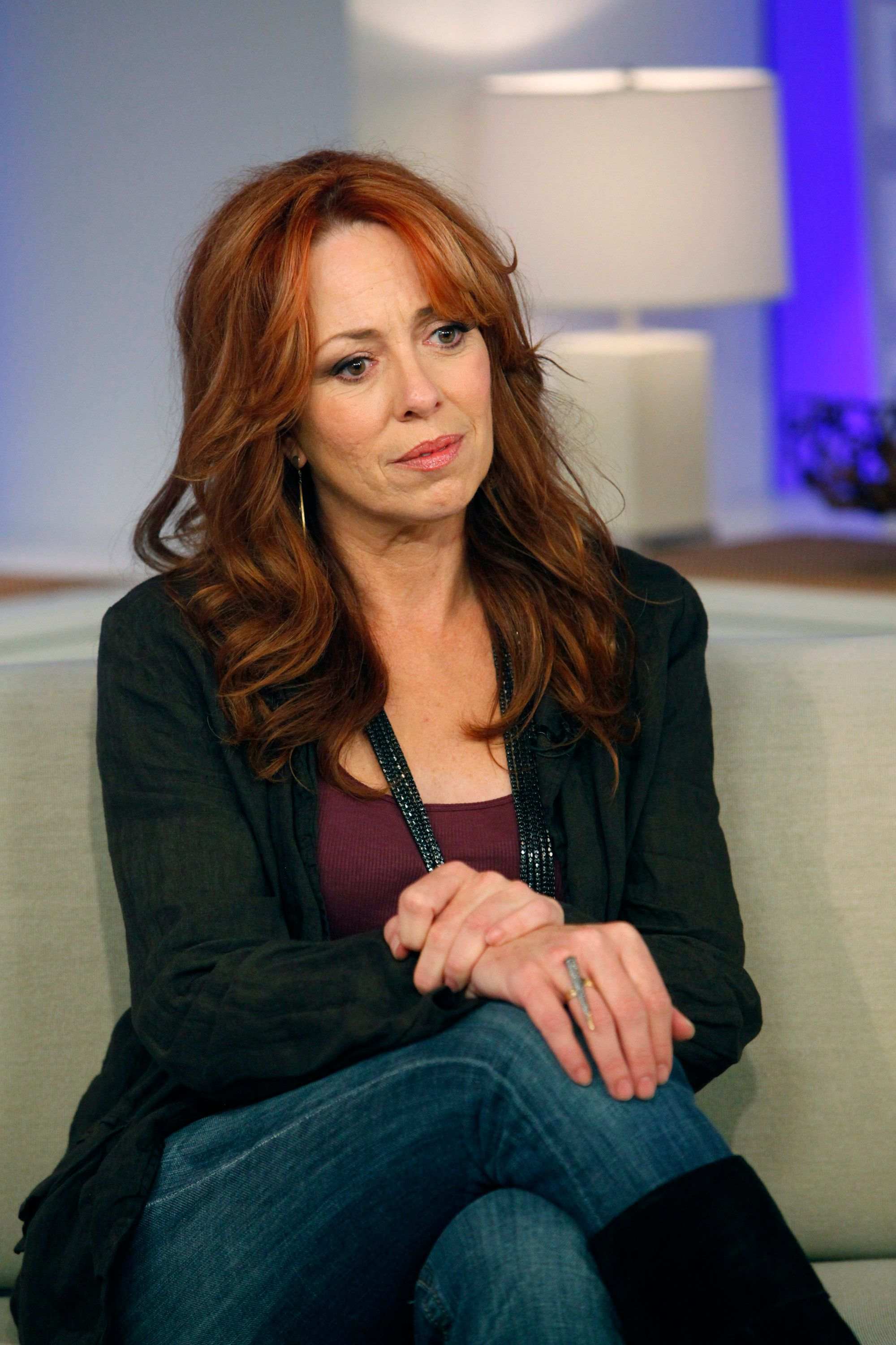 TODAY -- Pictured: Mackenzie Phillips -- NBC News' Meredith Vieira talks to actress Mackenzie Phillips about her long-standing relationship with her father, her struggle with drug addiction and other details revealed in her new memoir 'High on Arrival'  (Photo by Virginia Sherwood/NBC/NBCU Photo Bank via Getty Images)