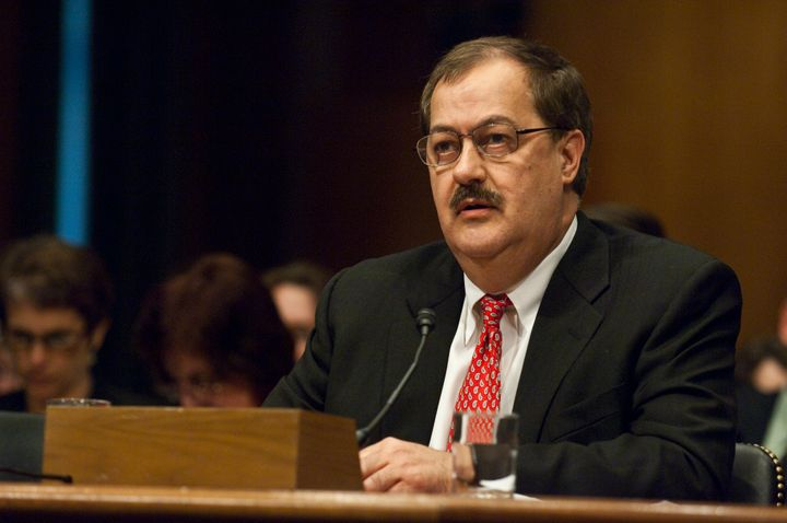 Former Massey Energy CEO Don Blankenship was defiant at his sentencing on Wednesday, after he was found guilty ofconspi