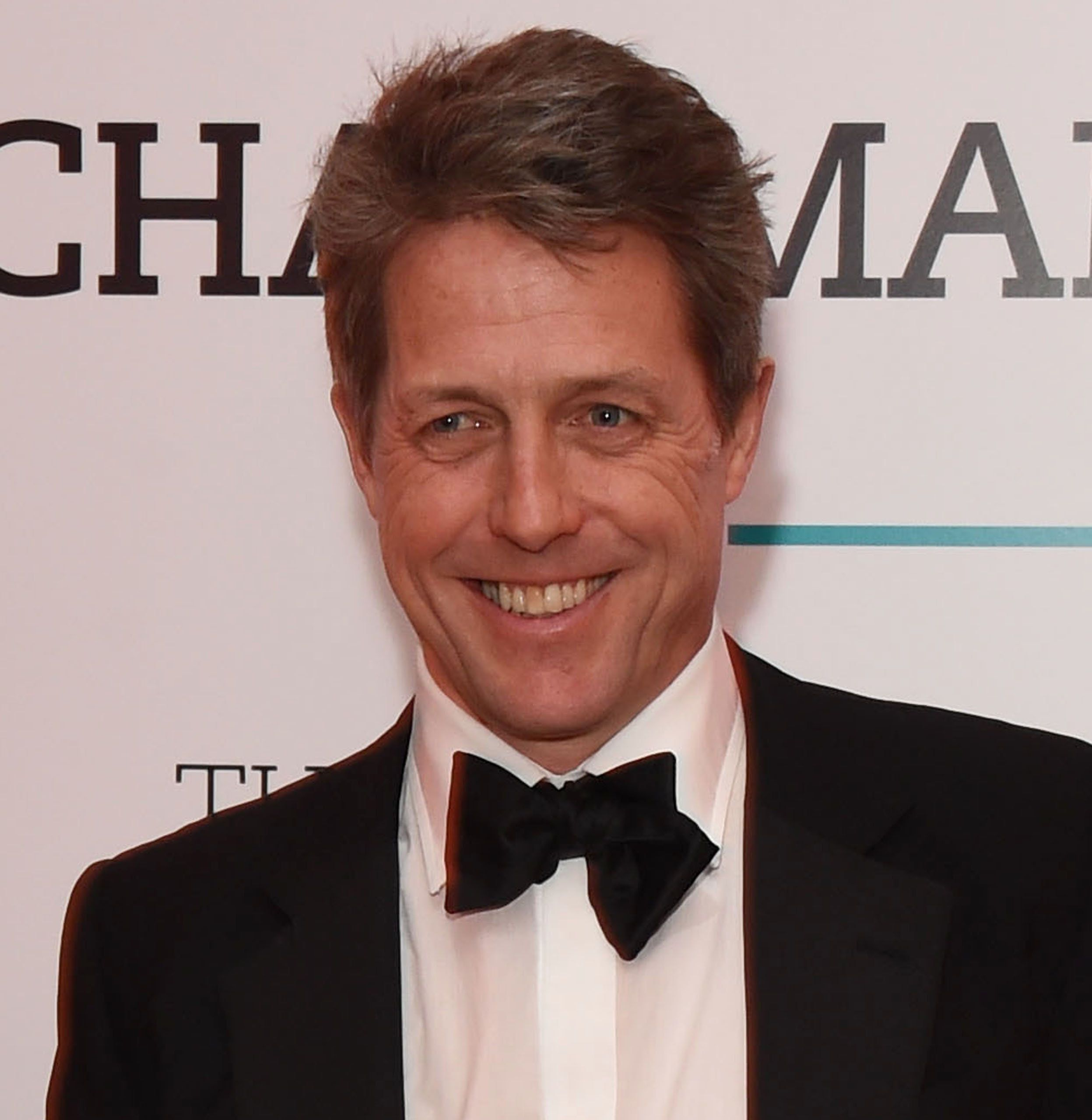 LONDON, ENGLAND - FEBRUARY 23:  Hugh Grant attends the BFI Chairman's Dinner, where he was awarded with his BFI Fellowship, at The Corinthia Hotel on February 23, 2016 in London, England.  (Photo by David M. Benett/Dave Benett/Getty Images)