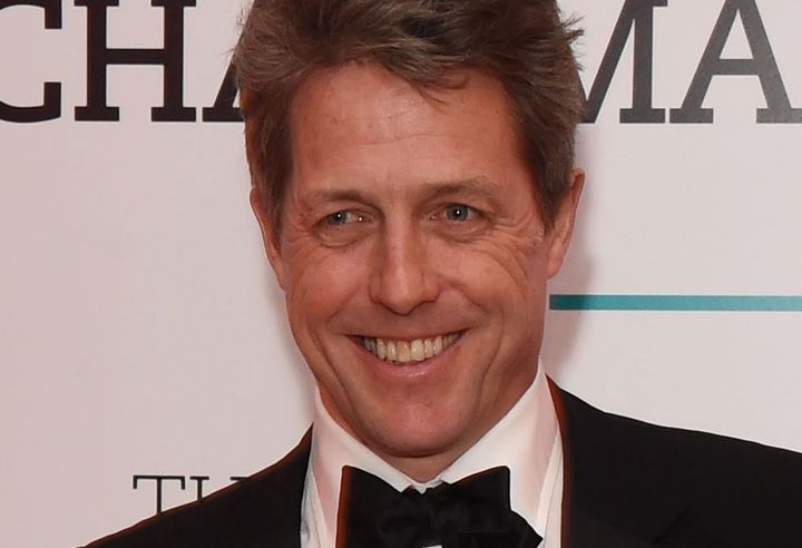 Hugh Grant at the BFI Chairman's Dinner in London in February 2016.