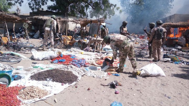 Boko Haram has increasingly used women and children as suicide bombers. Above, an abandoned Boko Haram camp in&nbsp
