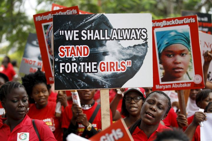 The Bring Back Our Girls movement protests every day in the Nigerian capital. The international media spotlight may have move