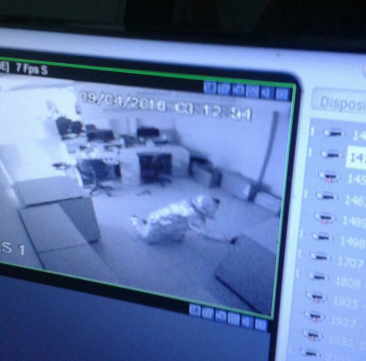 The robbers covered themselves in aluminum foil in a bid to beat the bank's alarm system.