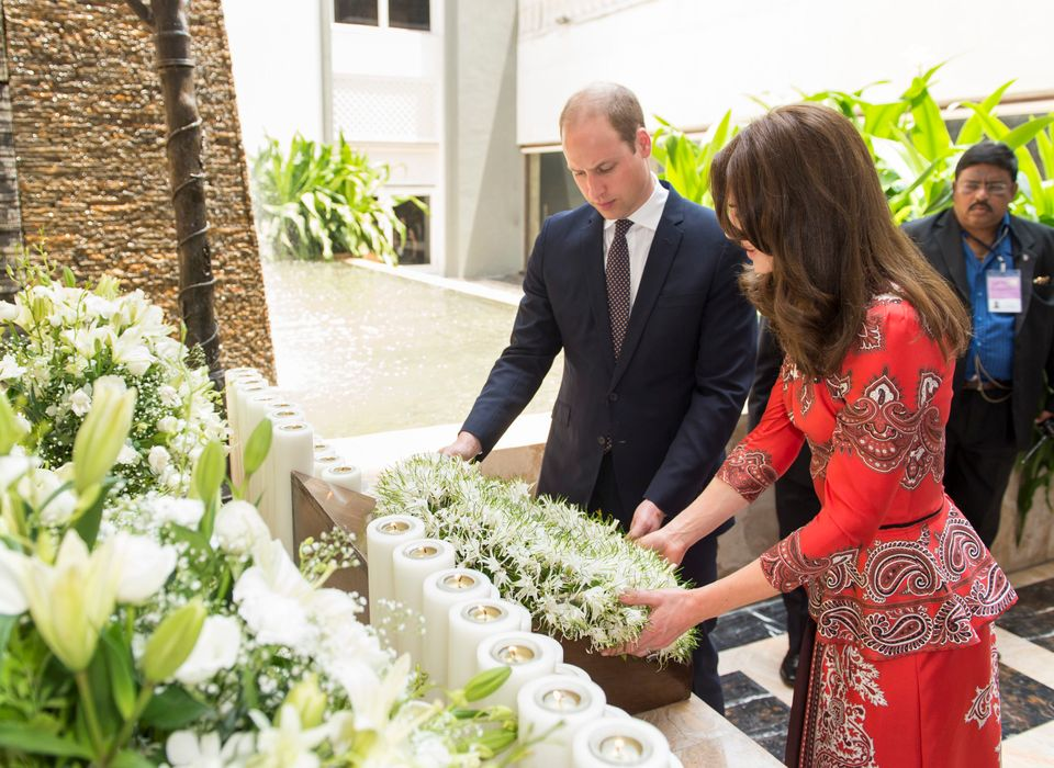 The Duke and Duchess are in