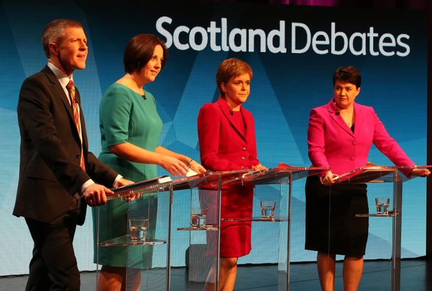 (Left to right) WIll Rennie, Kezia Dugdale, Nicola Sturgeon and Ruth Davidson have all published their...