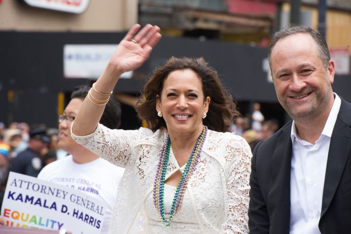 The Senate campaign of California Attorney General Kamala Harris is highlighting the support of her opponent,Rep. Loret