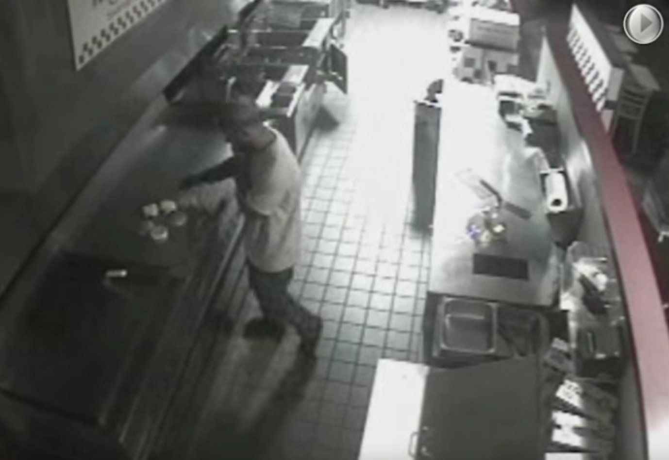 Alleged Hamburglar in Five Guys