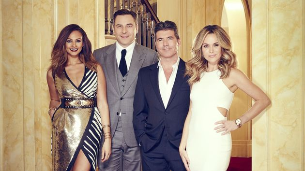 The 'Britain's Got Talent' judges have lots to smile