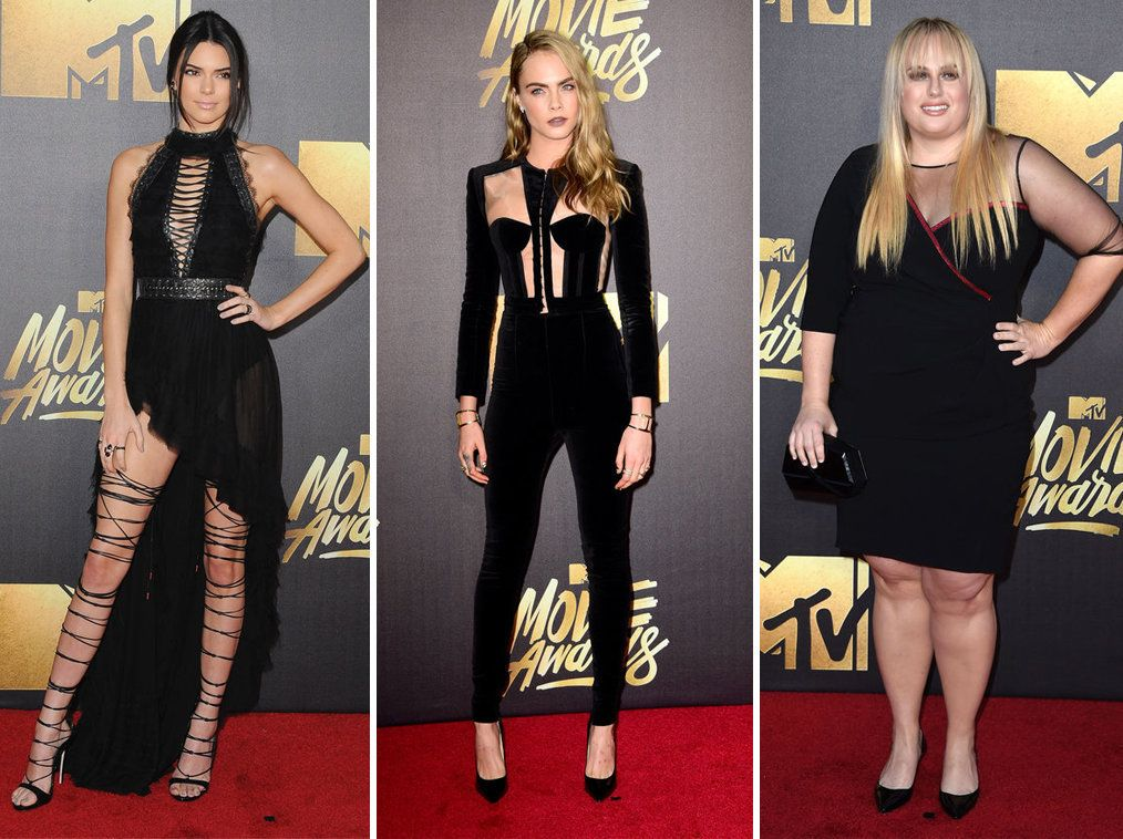 Sheer Outfits Ruled The MTV Movie Awards