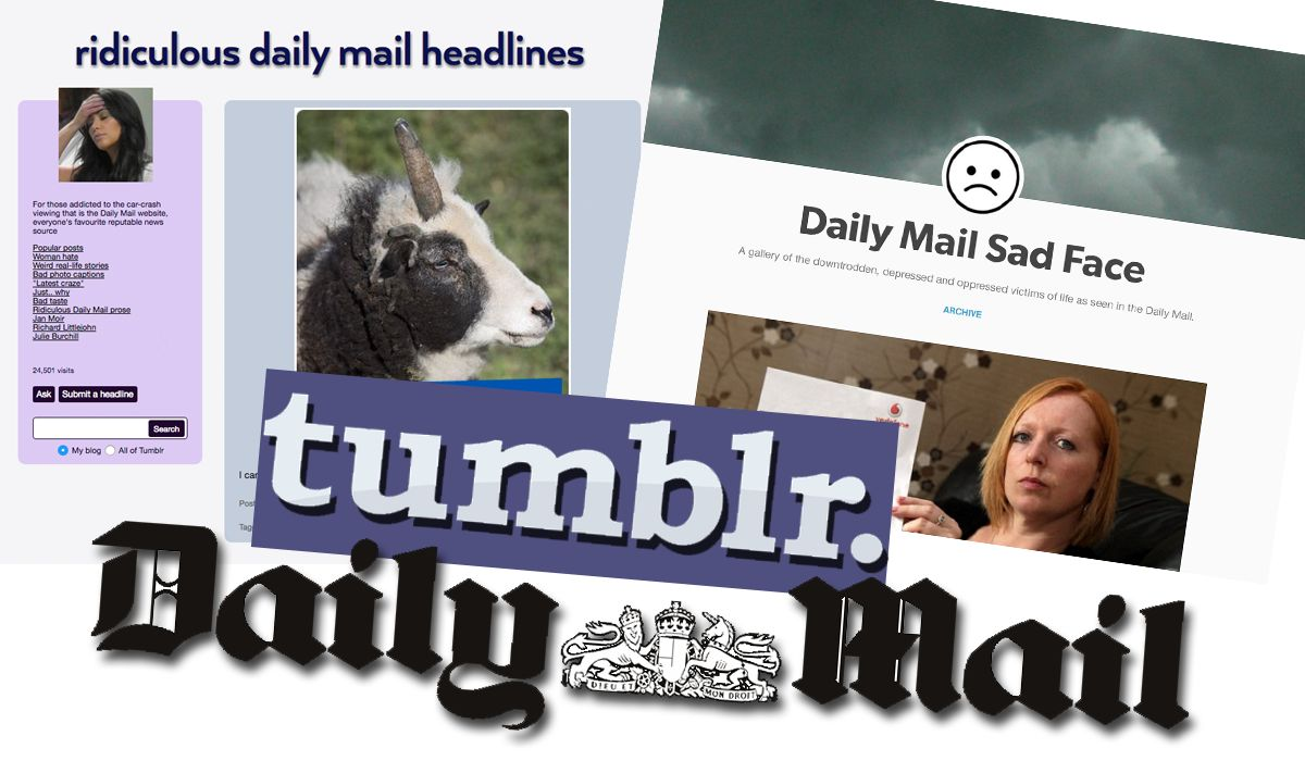So, The Daily Mail Might Own Tumblr Soon Which Could Make Things Awkward