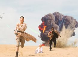 Couple's 'Star Wars' Photoshoot Would Make Finn and Rey Proud