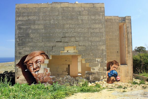 "Street artist<a href=""https://www.facebook.com/ChemiS-113127648721070/"" target=""_blank"">Chemis</a>, from the Czech Repu"