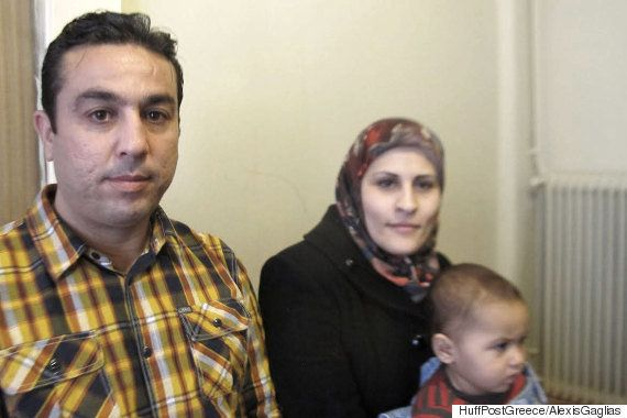 Ahmad and Samia also left behind a home in Aleppo to escape the war's violence with their three children.