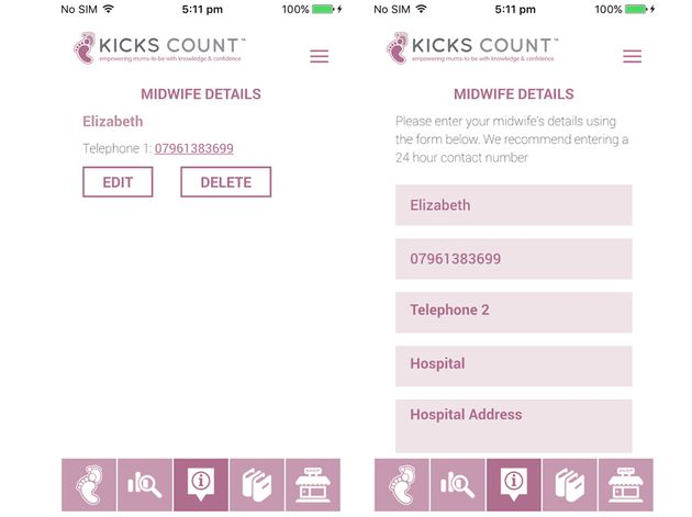 'Kicks Count' Launch App For Pregnant Women To Track Their Baby's Movements And Help Prevent