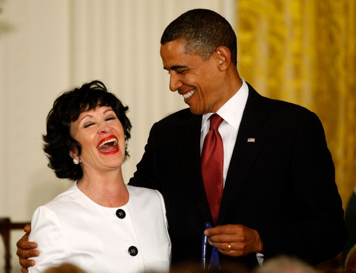 In 2009,President Barack Obama presented Chita Riverawith the Medal of Freedom.