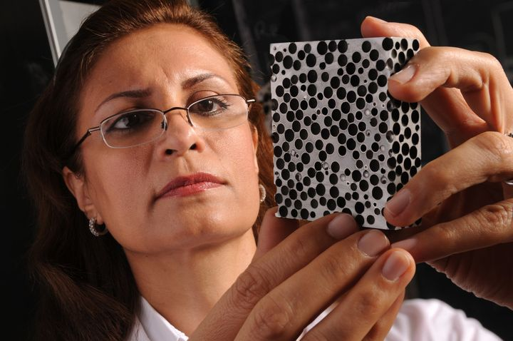 Afsaneh Rabiei has spent years developing the composite metal foam, which may be the future of bulletproof armor.