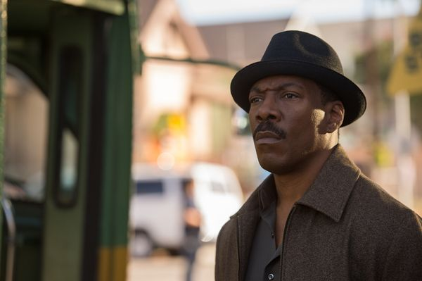 "Eddie Murphy hasn't appeared on the big screen since 2012's ""A Thousand Words,"" a dud that resulted in one of the four Razzie"
