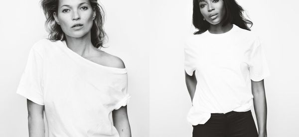 Kate Moss And Naomi Campbell Reunite For Fashion Targets Breast Cancer