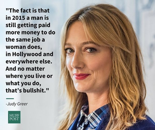 "In an op-ed for Glamour, <a href=""https://www.huffpost.com/entry/judy-greer-pay-gap-glamour_n_7224226"">Judy Greer called bull"