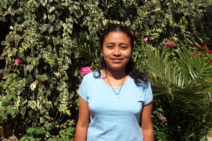 Sister Durly Diane Salazar Granja is from Chulucanas, Peru.