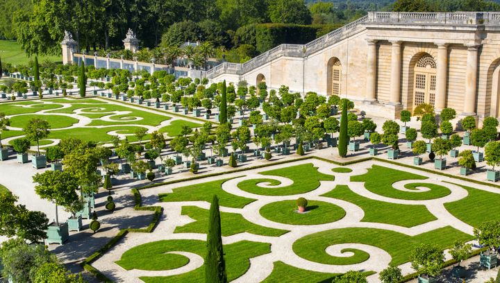 The Palace of Versailles, aka yournew favorite hotel and restaurant.