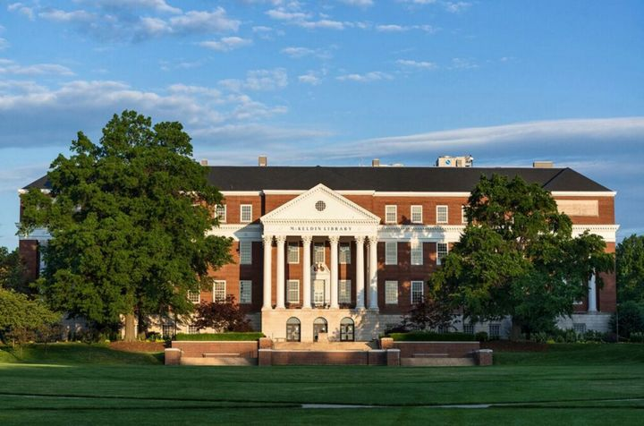 The University of Maryland is a public university that ranks high on the list.